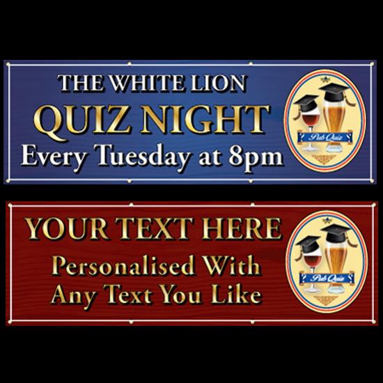 Picture of Quiz Night Pub Banner