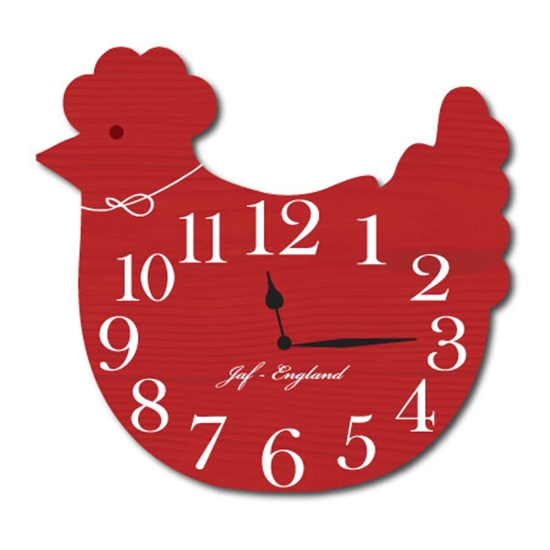 Picture of Chicken Shaped Clock
