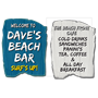 Picture of Driftwood Effect Beach Sign