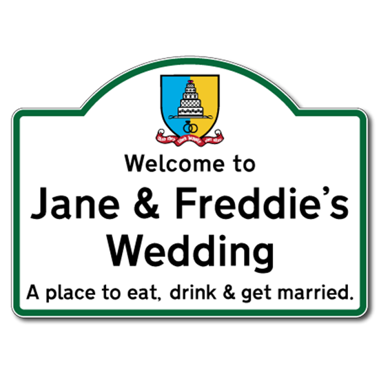 Picture of Welcome to Wedding Sign