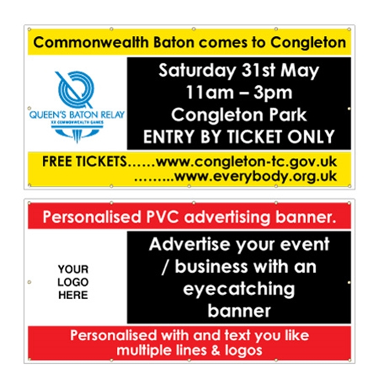 Picture of Personalised Event / Advertising Banner