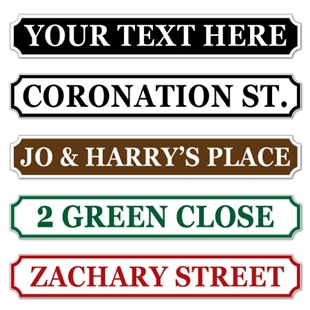 Picture of Coronation Street Style Sign
