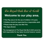 Picture of Custom Play Area Rules Sign