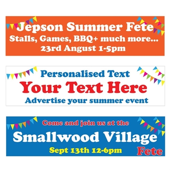 Picture of Summer Fete Banner