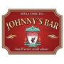 Picture of Vintage Shaped Personalised Photo Home Bar Sign