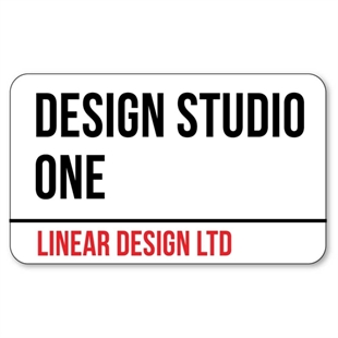 Picture of London Street Sign Office Door Sign