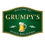 Picture of Traditional Barrel Shaped Pub Home Bar Sign