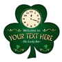 Picture of Custom Irish Shamrock Clock