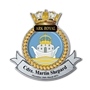 Picture of HMS Ark Royal Crest, Personalised with any text