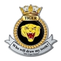Picture of HMS Tiger Crest, Personalised with any text
