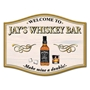 Picture of Whisky Home Bar Sign - Make mine a double
