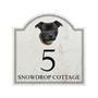 Picture of Staffordshire Bull Terrier House Plaque