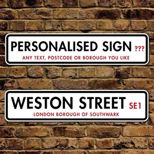 Picture of London Borough of Southwark Street Sign
