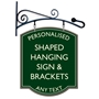Picture of Decorative Hanging sign & Bracket