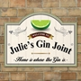 Picture of Personalised Gin Sign
