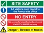 Picture of Personalised Safety Board Multi Box Option