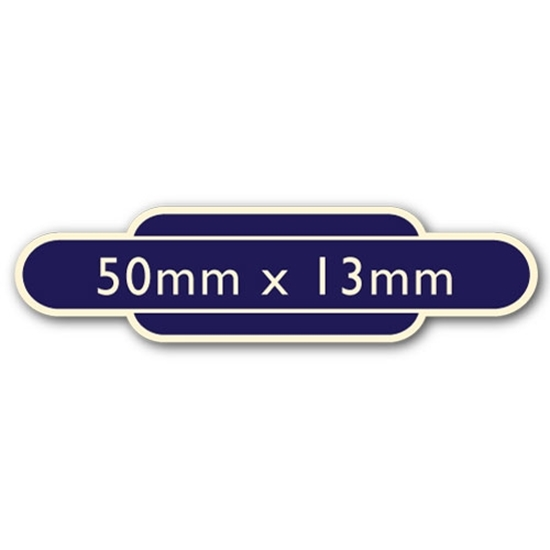 Picture of Classic Ivory Railway Totem Stickers 50mm x 13mm