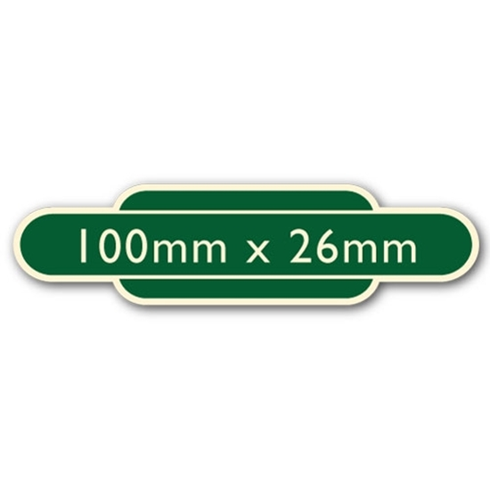 Picture of Classic Ivory Railway Totem Stickers 100mm x 26mm