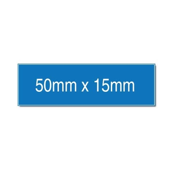 Picture of Traffolyte Engraved Label 50mm x 15mm