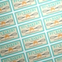 Picture of Rectangular stickers 40mm x 20mm