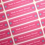 Picture of Rectangular stickers 80mm x 20mm