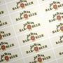 Picture of Rectangular stickers 45mm x 15mm