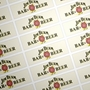 Picture of Rectangular stickers 75mm x 25mm