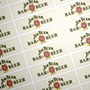 Picture of Rectangular stickers 120mm x 40mm