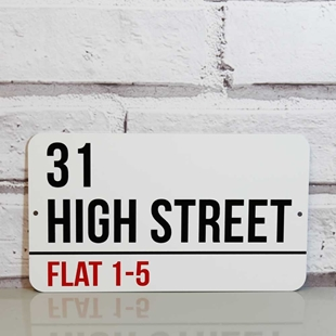 Picture of Personalised London Street Sign