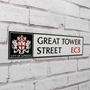 Picture of Custom City of London Street Sign with Crest