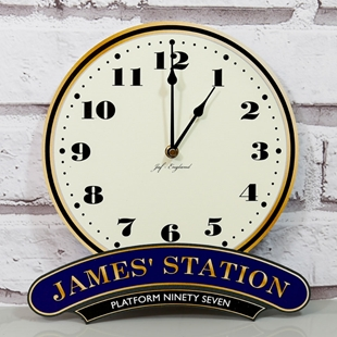 Picture of Personalised Railway Station Clock