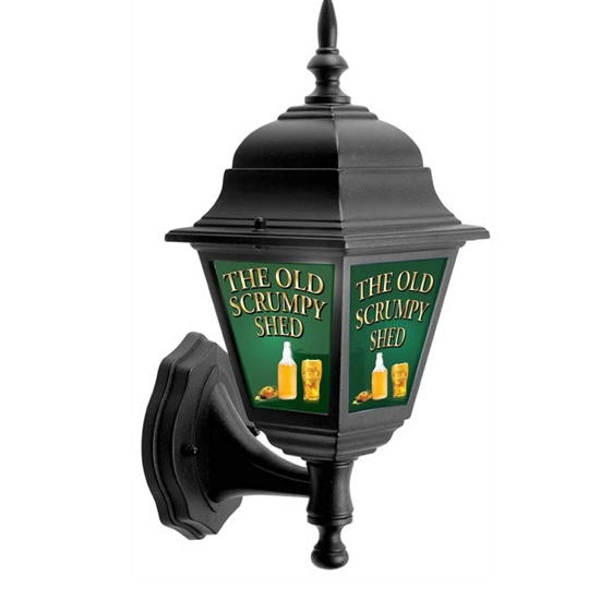 Picture of Pub Lantern Light with a Cider Theme