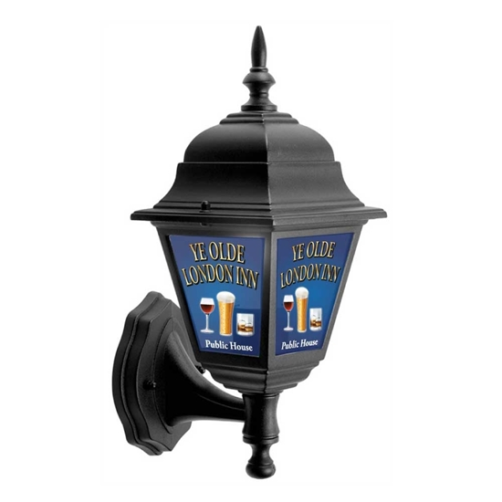 Picture of Pub Lantern Light with a round of drinks logo