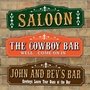 Picture of Cowboy Saloon Sign