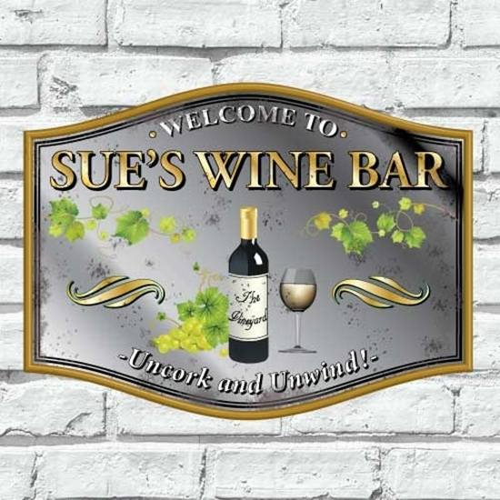 Picture of Customised Wine Bar Mirror