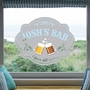 Picture of Oval Pub Window Sticker