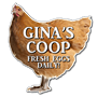 Picture of Hen / Chicken Personalised sign