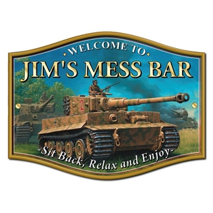 Picture of Tank Home Bar Sign