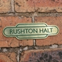Picture of Solid Brass Engraved Totem Plaque