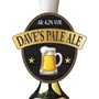 Picture of Personalised Pint Logo Beer Pump Clip