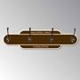 Picture of Classic Style Railway Station Totem Coat Hanger