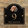 Picture of Airedale Terrier House Sign