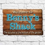 Picture of Old Wooden Plank Sign