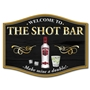 Picture of Vodka Home Bar Sign - Make mine a double