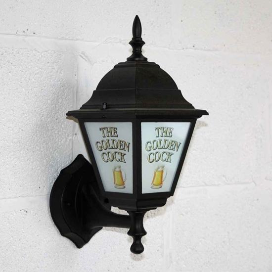 Picture of Pub Lantern Light with Pint logo