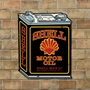 Picture of Shell Oil Can, Vintage Garage Sign