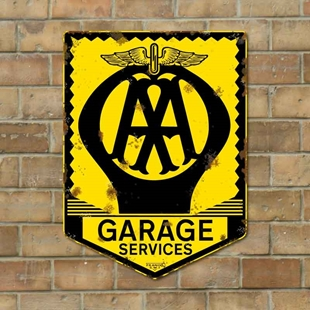 Picture of AA Garage Services, Vintage Garage Sign