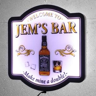 Picture of Whisky Bar Illuminated LED Pub Sign