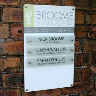 Picture of Office / Practice Name plate sign