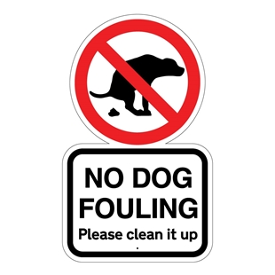 Picture of NO DOG FOULING SIGN